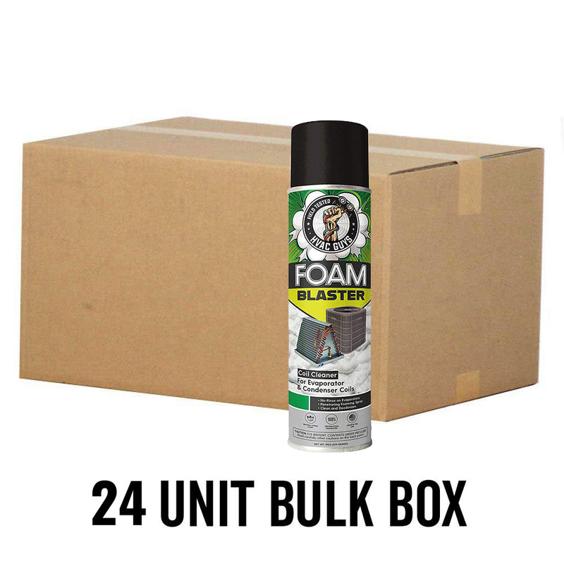 HVAC Guys Foam Blaster Coil Cleaner (24 Unit Bulk Box)