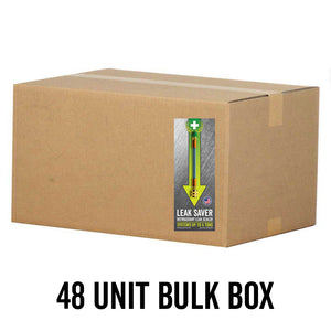 48 Unit Box Leak Saver Direct Inject Air Conditioning and Refrigeration Freon Leak Sealant