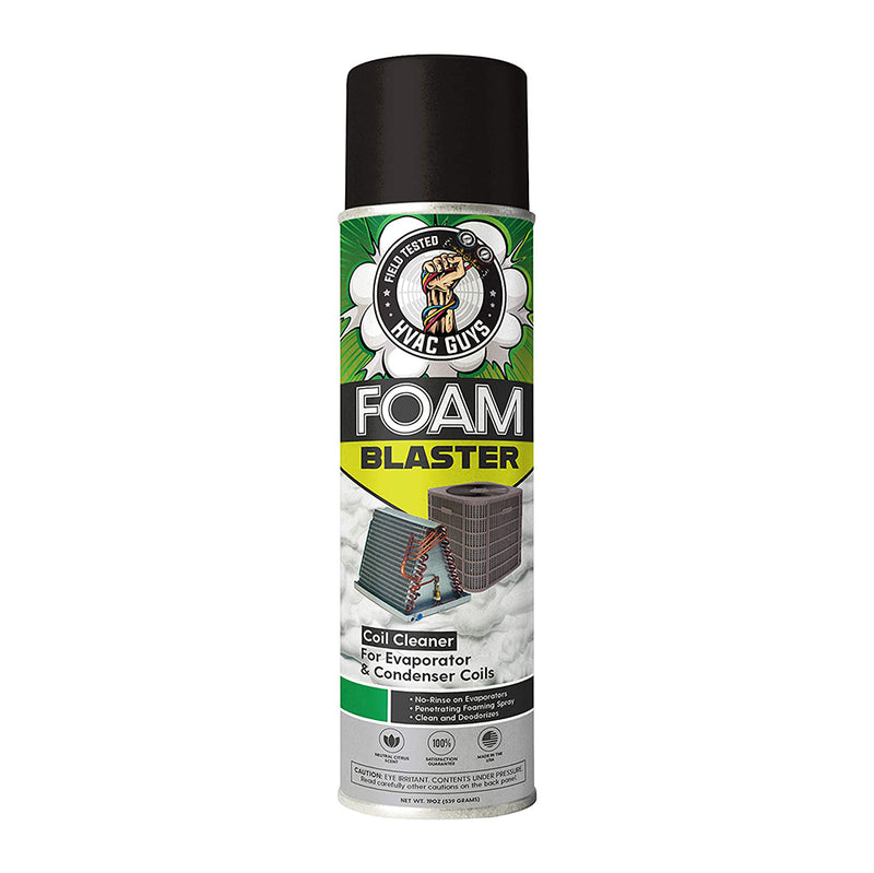 HVAC Guys Foam Blaster Refrigeration Air-Conditioning Evaporator Condenser Coil Cleaner Single Unit