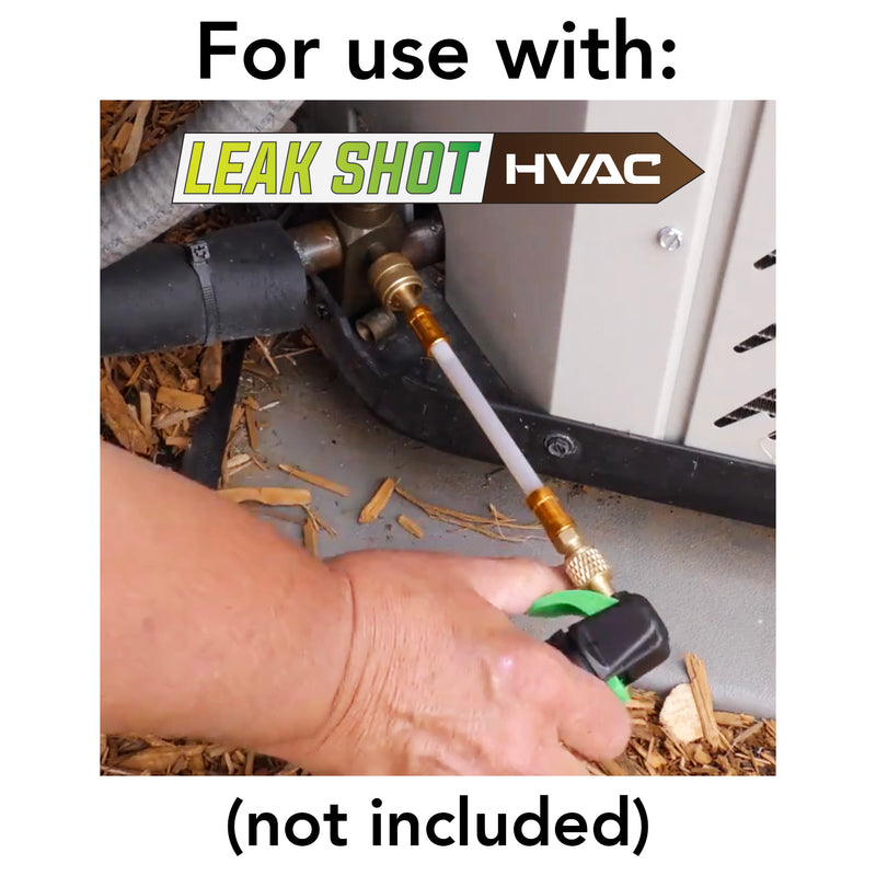 Leak Shot HVAC Refill Cartridges - Refrigerant Grade CO2 - 8 Pack