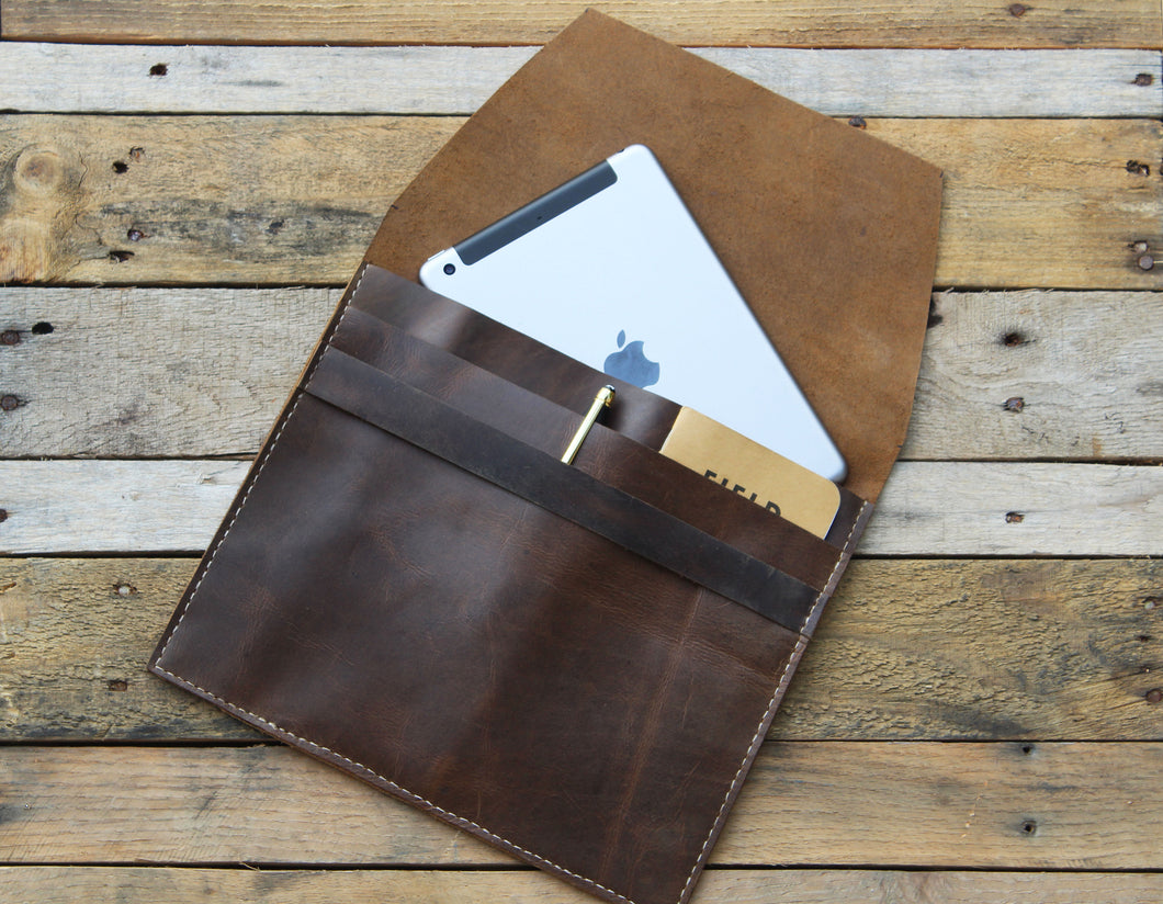 Genuine Leather iPad Sleeve | Hand-crafted