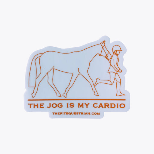 The Jog Is My Cardio Sticker