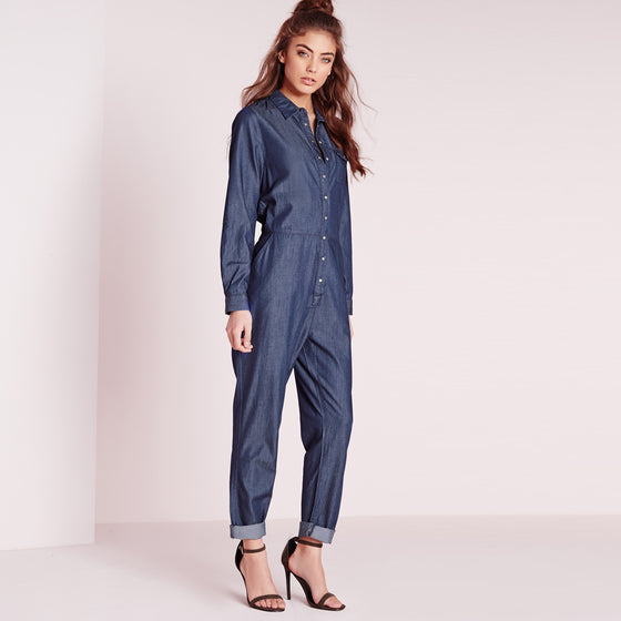 Single Button Jumpsuits
