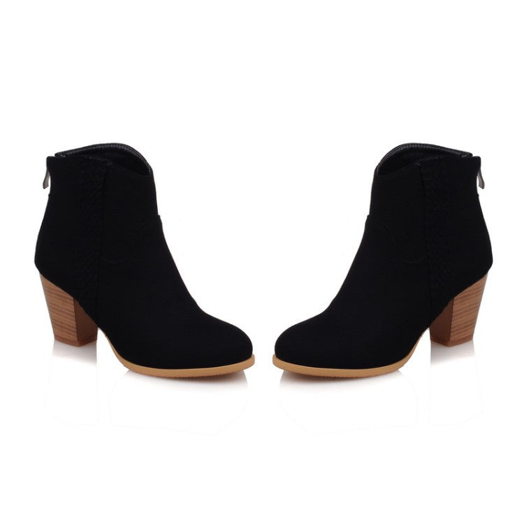 Hoof heels casual boot