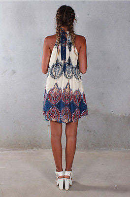 Sexy Boho Dress In The Beach