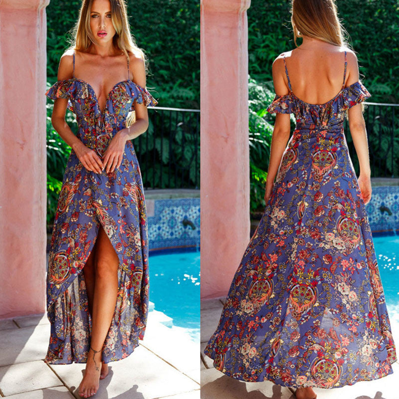 Floral Sensations Beach Dress