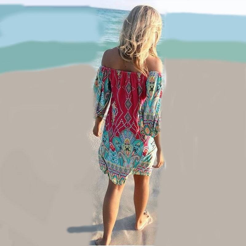 Dashiki Rockabilly Dress