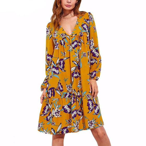 Butterfly Den Dress