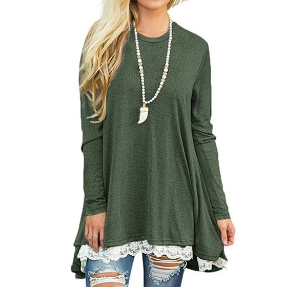 Long Sleeve Loose Top