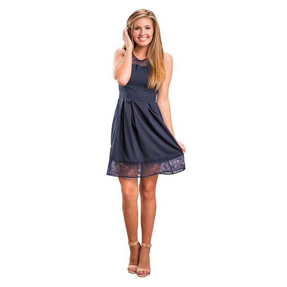 A Line Sleeveless Dress