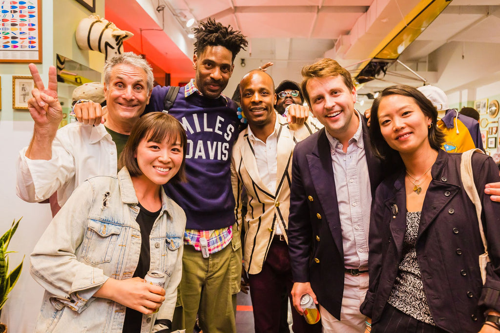 Beams Plus x Rowing Blazers Launch (See photos from our