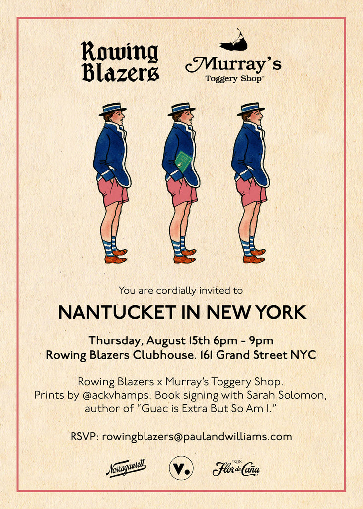 Party Invitation: Nantucket In New York (Thursday, August