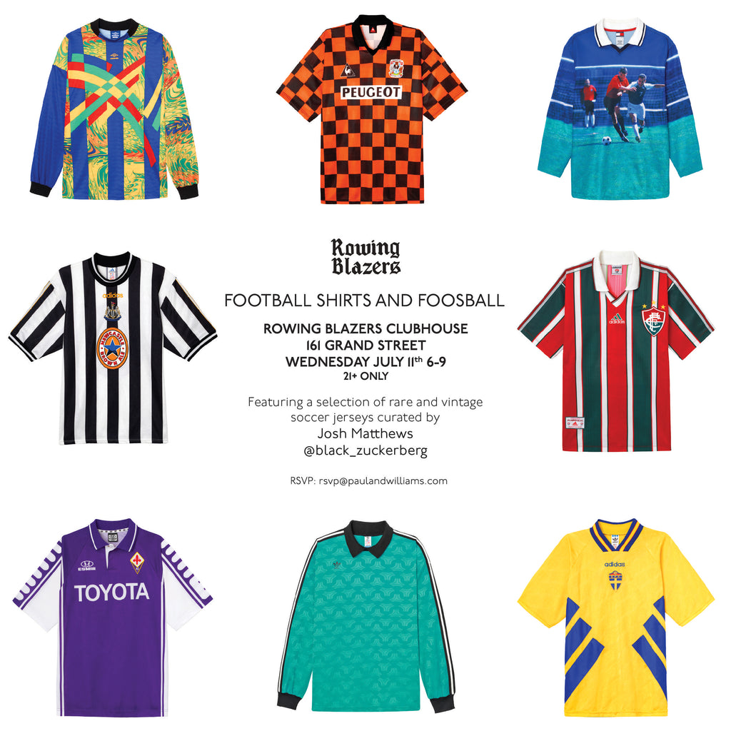 cheap for discount 23120 fc603 Invitation: Foosball and Football Jerseys (Rare and vintage ...