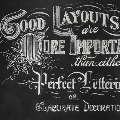 Chalk Lettering with Skyler Chubak