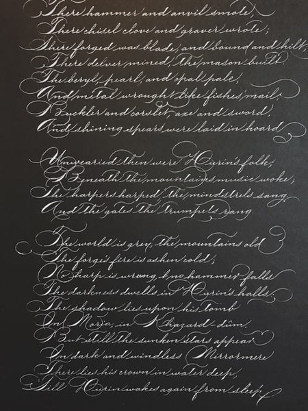 Spencerian with Hoang Dao