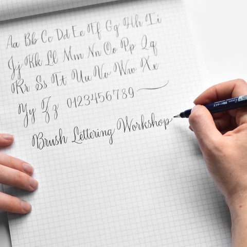 9/19 | Beginning Brush-Lettering Local Class | SLC, UT