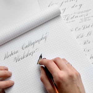 3/7 | Beginner Modern Calligraphy Local Class | DRAPER, UT