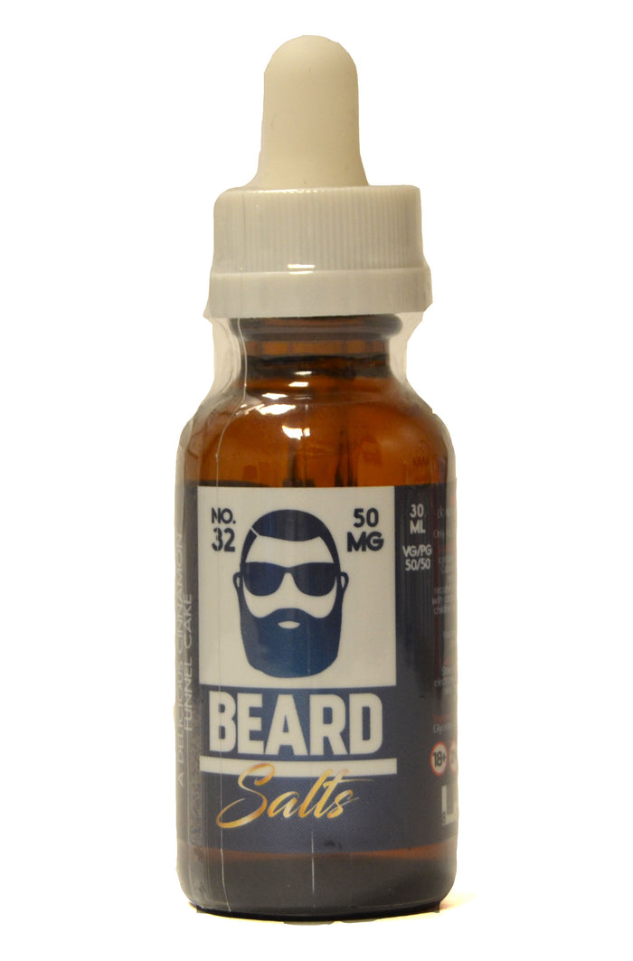 Beard Salts E Liquid | No. 32 | 30ml