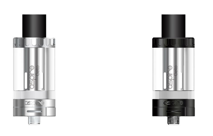 Aspire Clieto Tank - a great tank for sub ohm vaping.