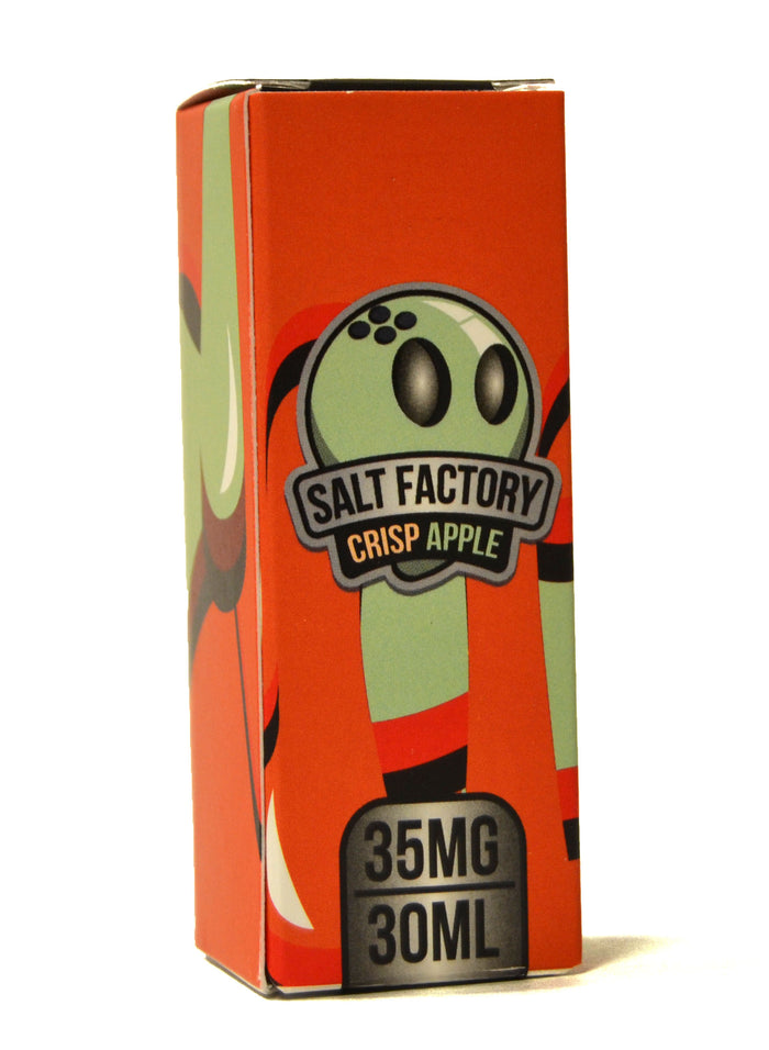Salt Factory E Liquid | Crisp Apple | 30ml
