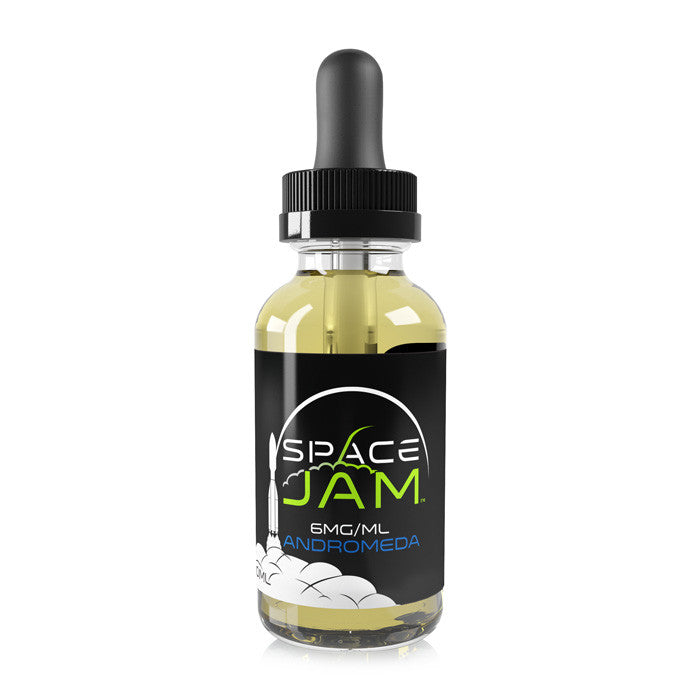 Space Jam 30ml Bottle - Andromeda - Blueberry Pomegranate e juice flavor