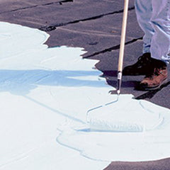 White Elastomeric Roof Coatings