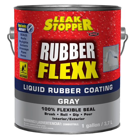 Leak Stopper® Rubber Flexx Liquid Rubber Coating (Gray)