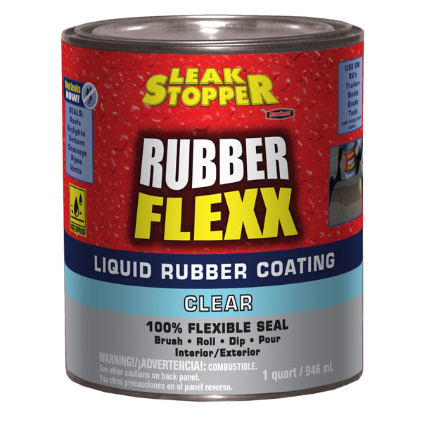 Leak Stopper 174 Rubber Flexx Liquid Rubber Coating Clear