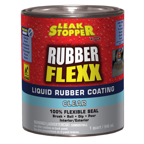 Leak Stopper® Rubber Flexx Liquid Rubber Coating (Clear)