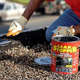 Leak Stopper 174 Rubberized Roof Patch Gardner Coatings