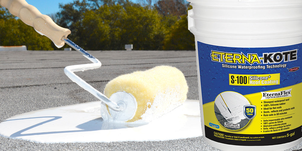 Gardner Eterna-Kote Silicone Roof Coating