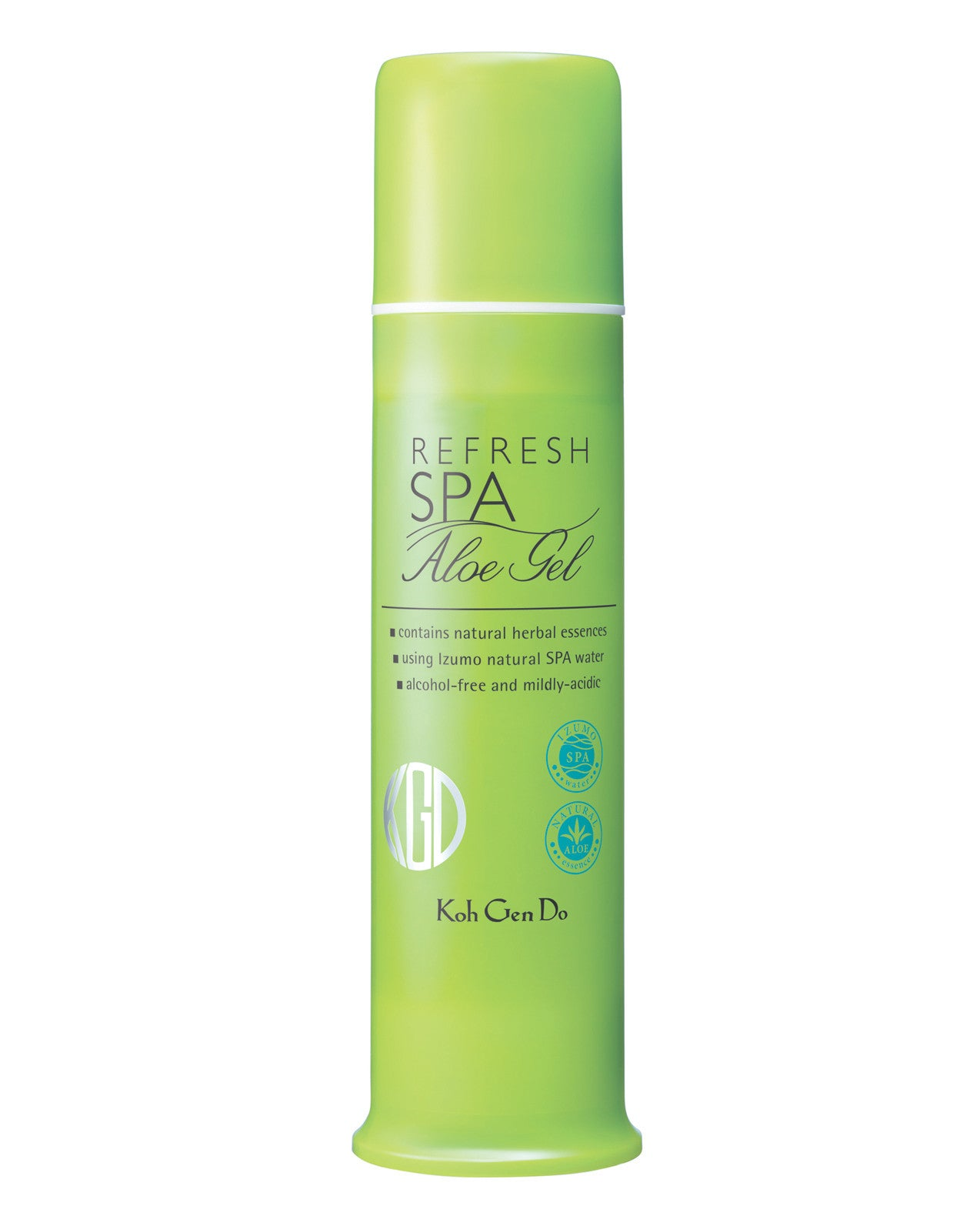 This lightweight, water-based gel calms, cools, and smooths skin texture in a single step.