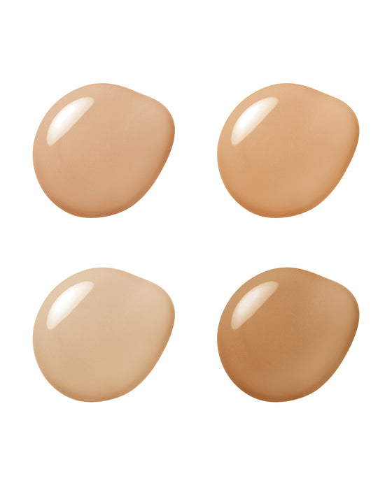 AQUA FOUNDATION SAMPLE SHADES (MEDIUM - TAN)