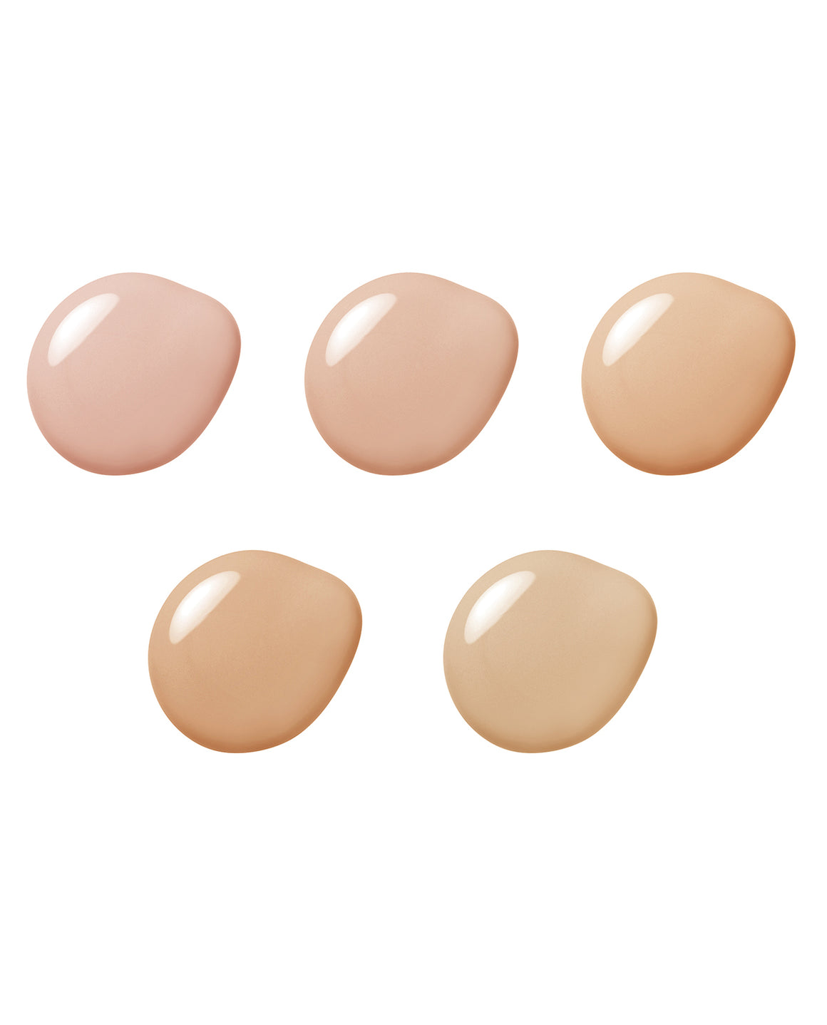 Aqua Foundation Sample Shades (Light - Medium)