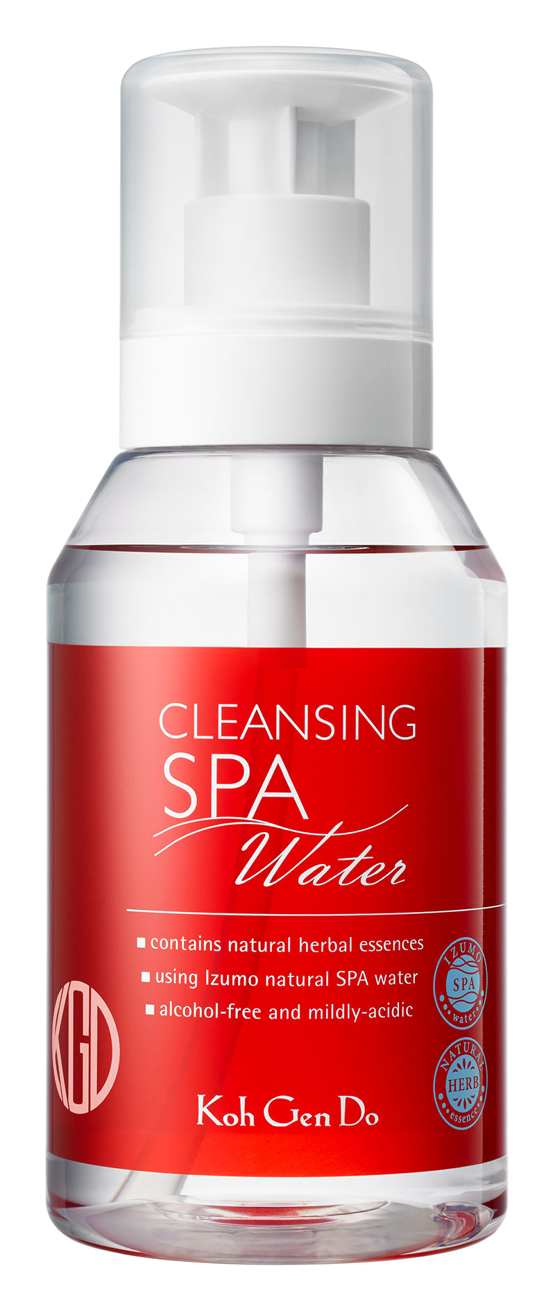 CLEANSING WATER