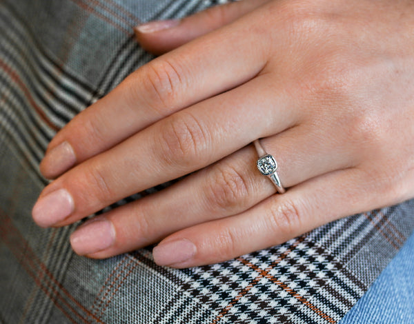 Minimalist Engagement Rings -- Why Less is More