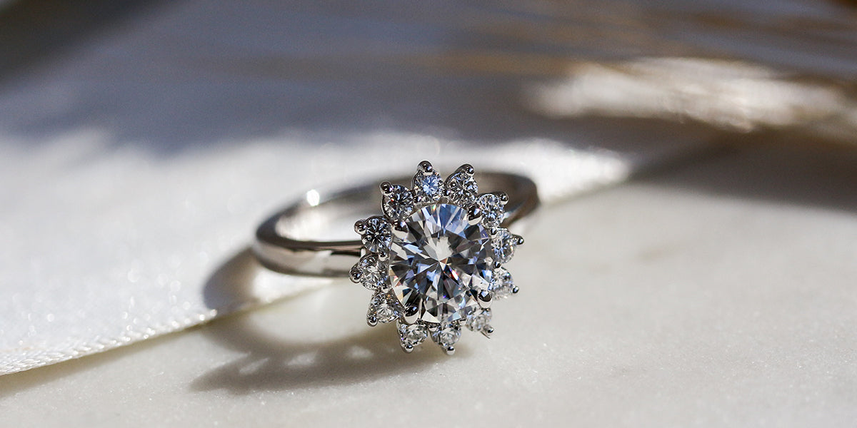 kobelli burst engagement ring
