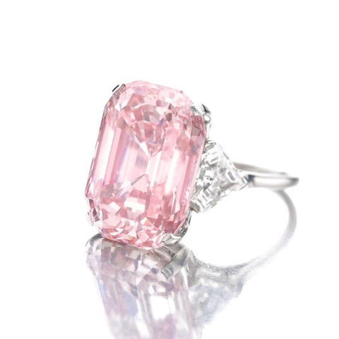 Step-Cut Poudretteite Ring