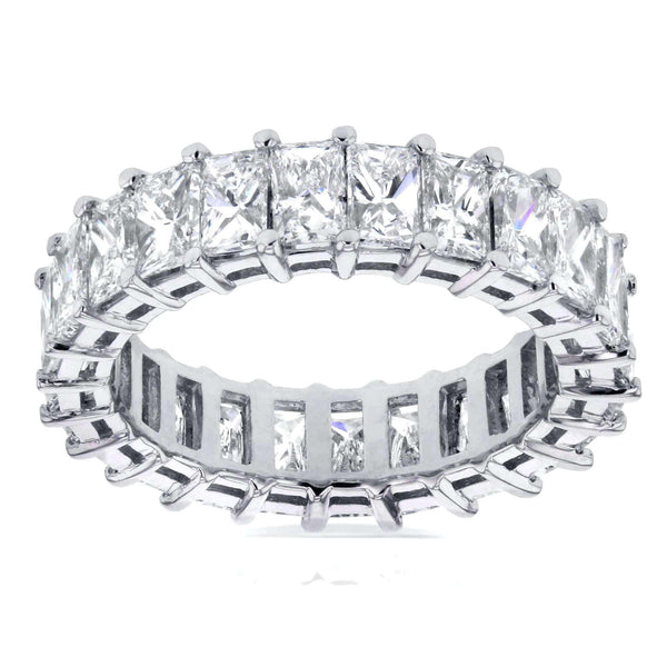 Kobelli Princess Baguette Diamond Eternity Band 4 3/4 CTW in 14K White Gold 14386X_5