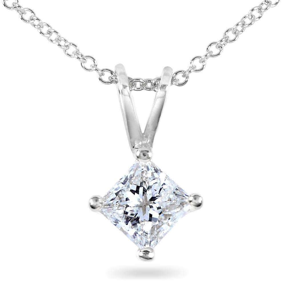 cded2a3c31602 Diamond Solitaire Pendant 1/2 carat in 14K Gold