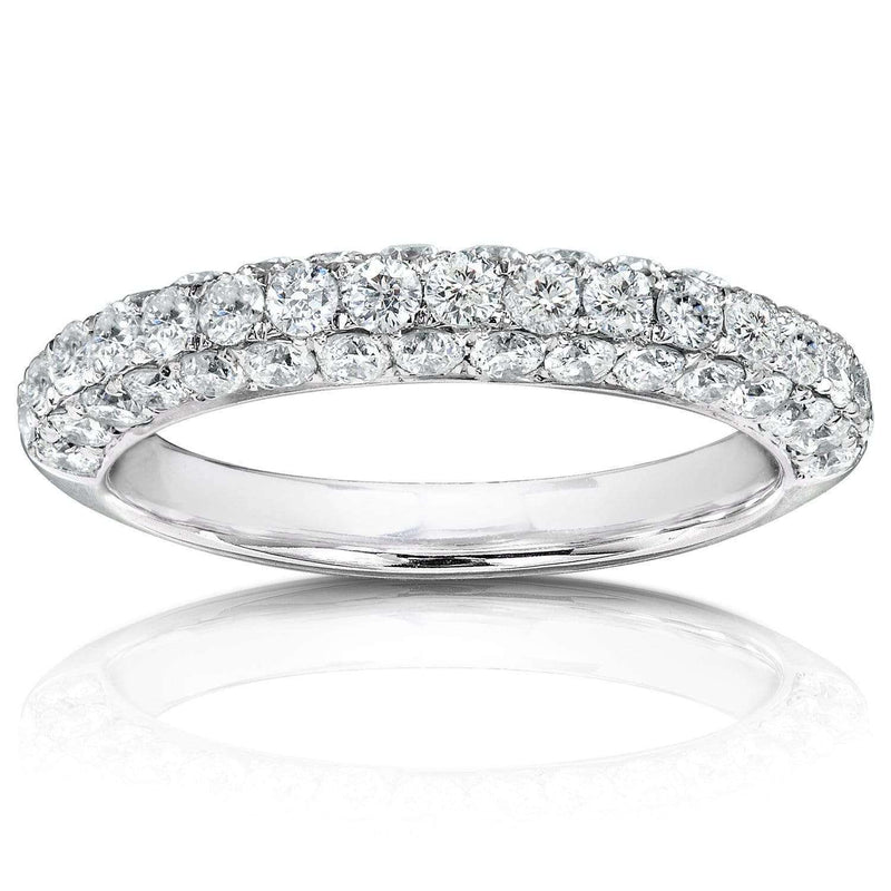 Kobelli Diamond Band 1 CTW in 14K White Gold