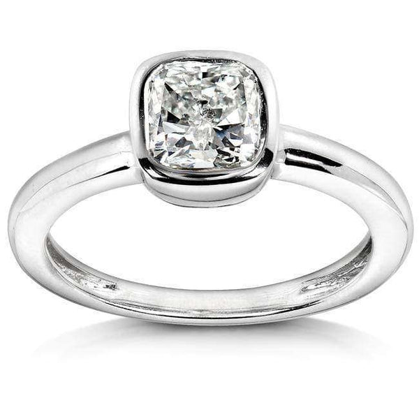 Kobelli Diamond Engagement Solitaire Ring 1 carat (ctw) in 14k White Gold