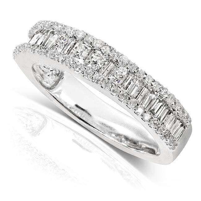 Kobelli Diamond Wedding Band 3/5 carat (ctw) in 14K White Gold