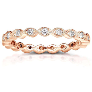 Diamond Eternity Band 1/3 carat (ctw) in 14k Rose Gold