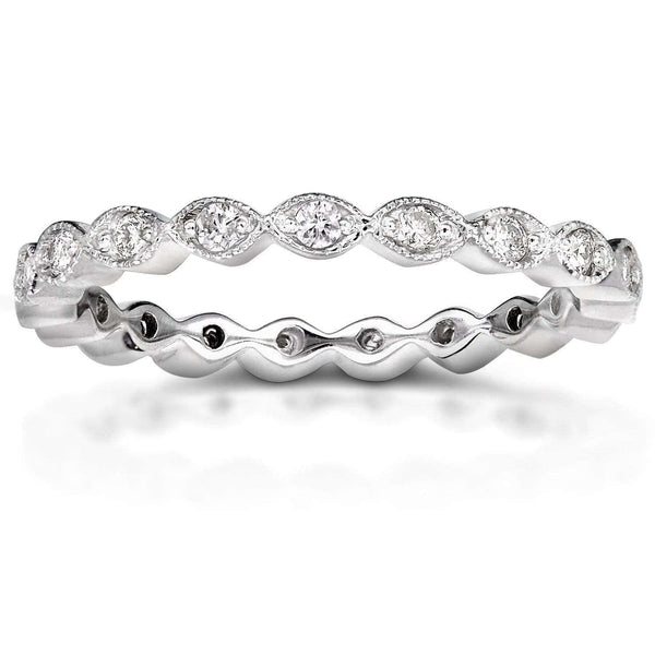 Kobelli Diamond Eternity Band 1/3 CTW in Platinum