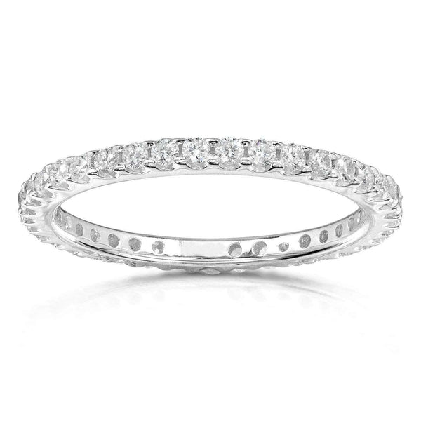 Kobelli Diamond Eternity Band 1/2 carat (ctw) in Platinum