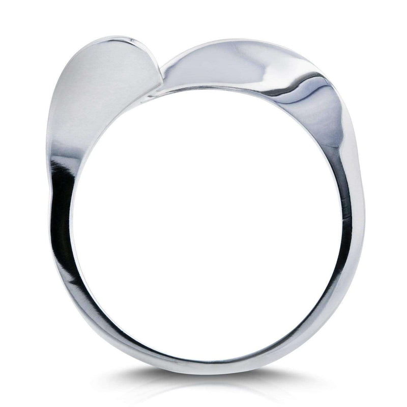 Kobelli Contoured Wedding Band in 14k White Gold (Series 61732)