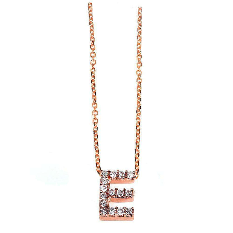 Kobelli Small A-Z Letter Diamond Pendant Gold 61788/E