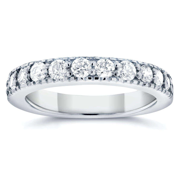 Kobelli Pave Diamond Band 1/2 CTW in 14K White Gold