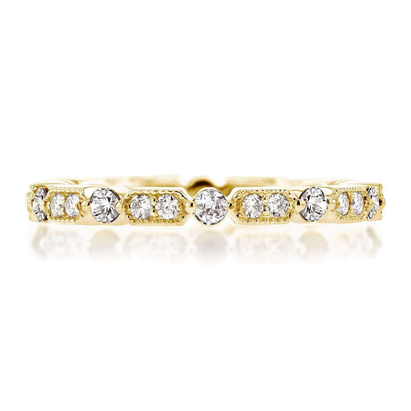 Kobelli Diamond Eternity Band 3/5 CTW in 14k Yellow Gold